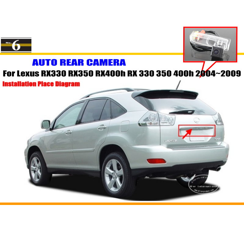 popular lexus rx 400h buy cheap lexus rx 400h lots from car camera for lexus rx330 rx350 rx400h rx 330 350 400h 2004~2009 rear