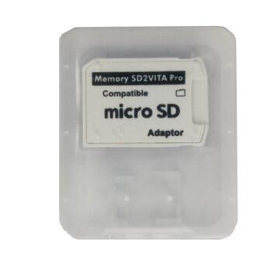 Fast Loading Card Adapter For PSVita Game Card to Micro SD/TF For SD2Vita Convertor for <font><b>PS</b></font> <font><b>Vita</b></font> PSV <font><b>1000</b></font> 2000 Version 5.0 image