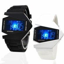 Los hombres De Moda las Estudiantes LED 30 M Impermeable Relojes Niños Del Reloj Electrónico Reloj Niño Tabla de La Jalea del Movimiento 2016