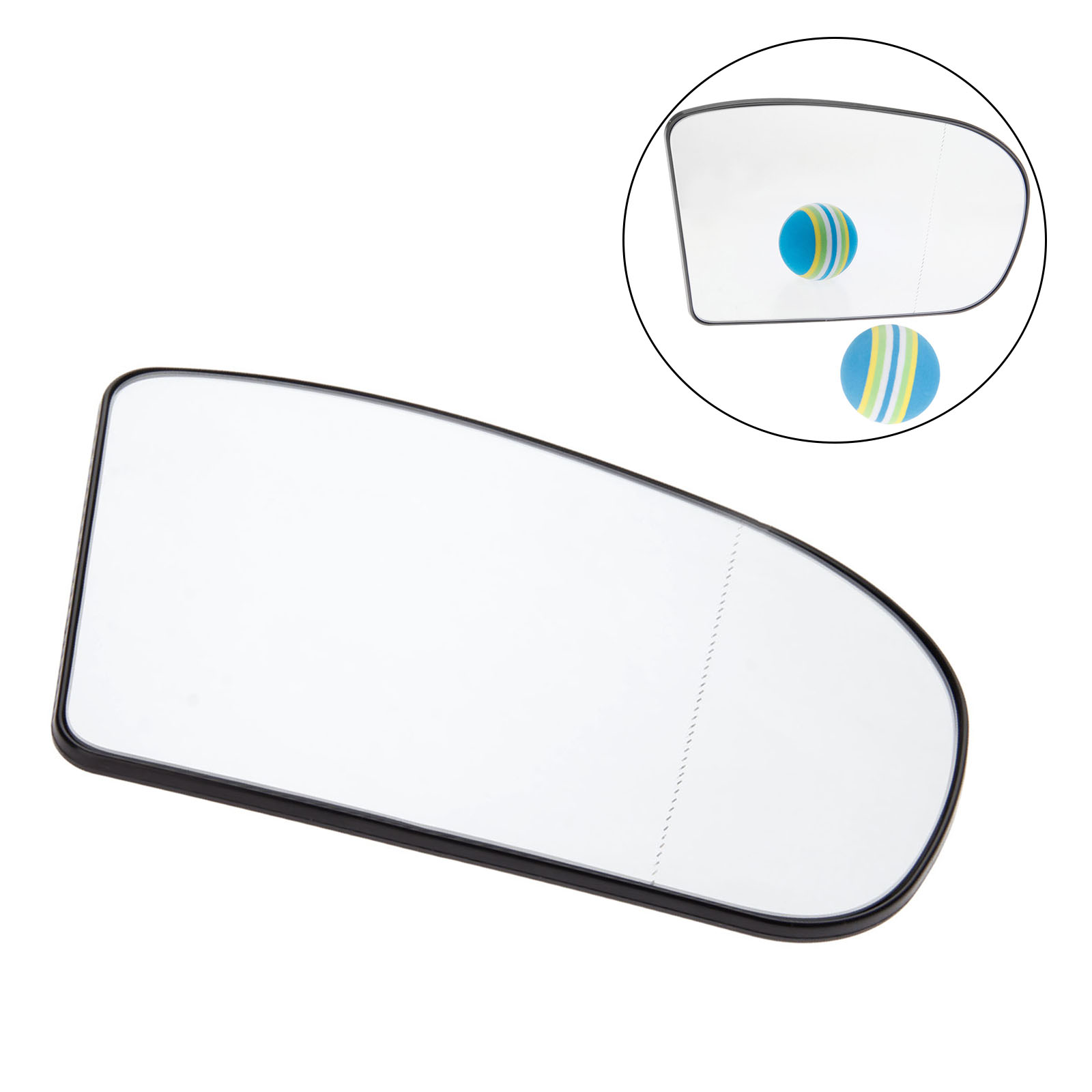 Yetaha Wide Angle Right Heated Wing Door Mirror For