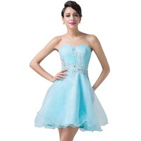 Sexy Blue Cocktail Dresses Party Short Luxury Graduation Homecoming Prom Dress Coctail Dress vestido de festa curto