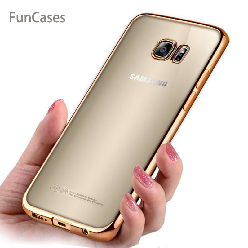Transparent Case For Samsung Galaxy S9 S8 Plus S7 S6 Edge Soft Silicone TPU Cover for <font><b>J3</b></font> J5 J7 Prime <font><b>2016</b></font> A3 A5 A7 2017 Note 5 8 image