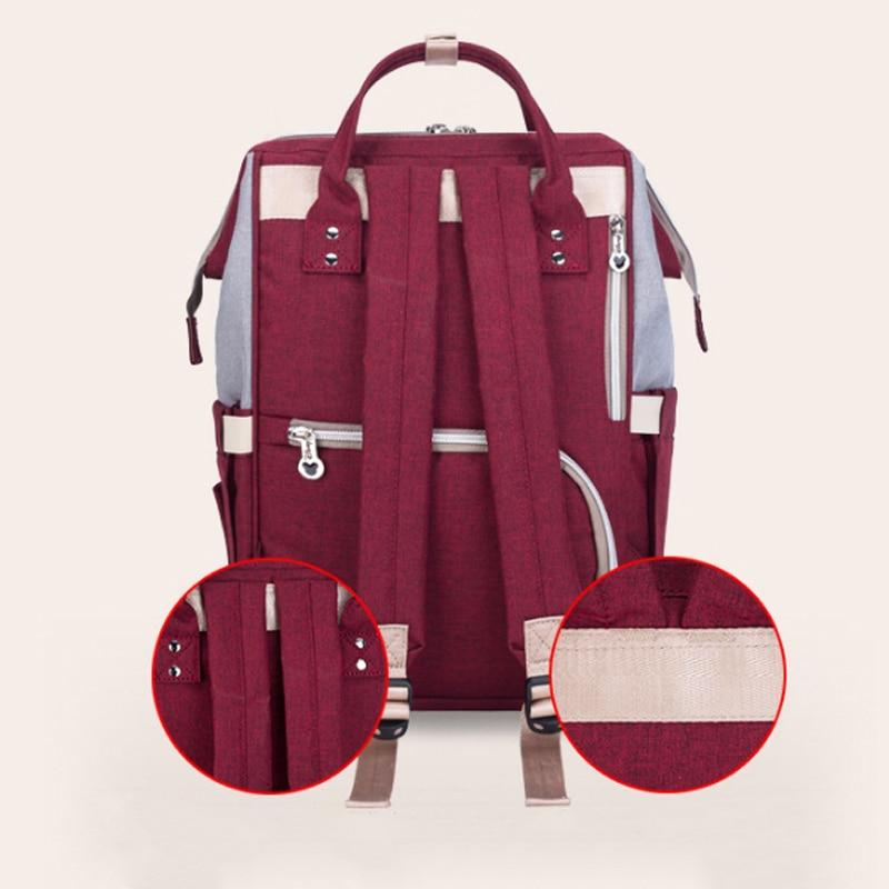 Disney 2019 New Mummy Backpack Diaper Bags Travel Handbag Waterproof Mommy Maternity Large Capacity Baby Storage Nappy Bag Gift