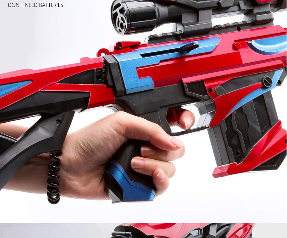 US $3 82 52% OFF|Gel Ball Blaster Toy Gun Paintball Airsoft Plastic Water  Gun Weapon Game 15M Shoot Range Sniper Kid Gift Outdoor Toys Gun Boys-in  Toy