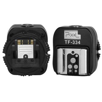 Pixel TF-334 Adapter gorącej stopki do aparatu Sony Mi konwersja do Canon Nikon Yongnuo Godox Meike Flash tanie i dobre opinie SETTO
