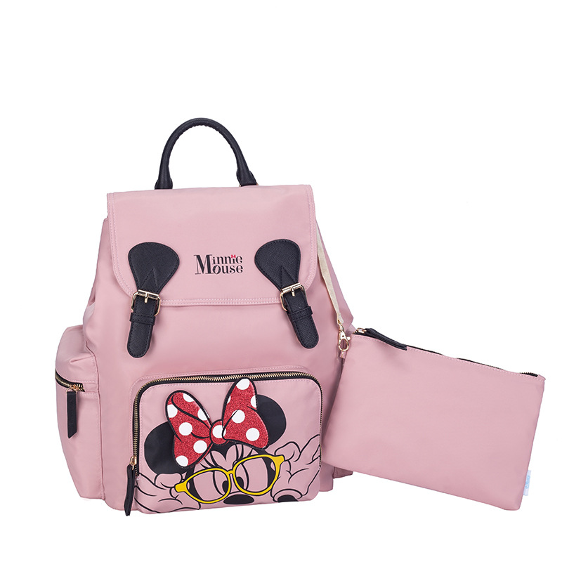 Disney New fashion mommy bag nappy bag mickey mouse bag mickey mouse backpack nappy backpack wife gift 3 styles High capacityDisney New fashion mommy bag nappy bag mickey mouse bag mickey mouse backpack nappy backpack wife gift 3 styles High capacity