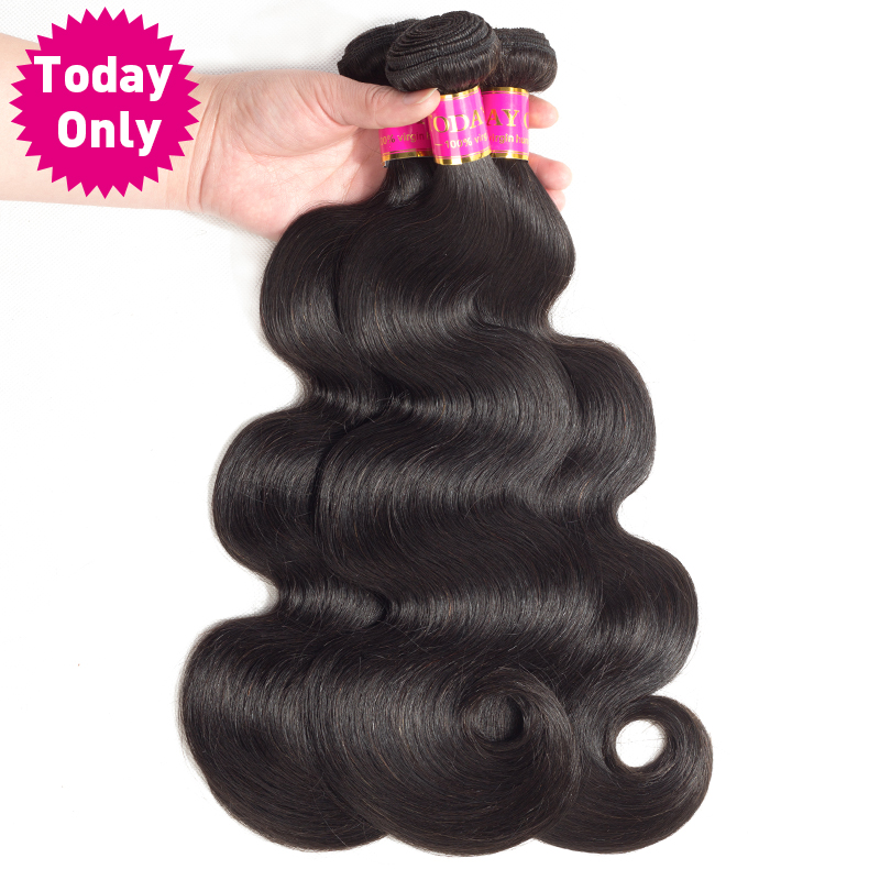 [TODAY ONLY] Brazilian Body Wave 3 Bundles Deals Remy Human Hair Weave Brazilian Hair Weave Bundles Natural Hair Extensions