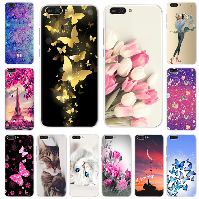 Silicone TPU Case For Huawei Y6 2018 Cover Pattern Phone Case For Huawei Y6 Prime 2018 Case Cover For Huawei Y6 Y 6 Prime 2018