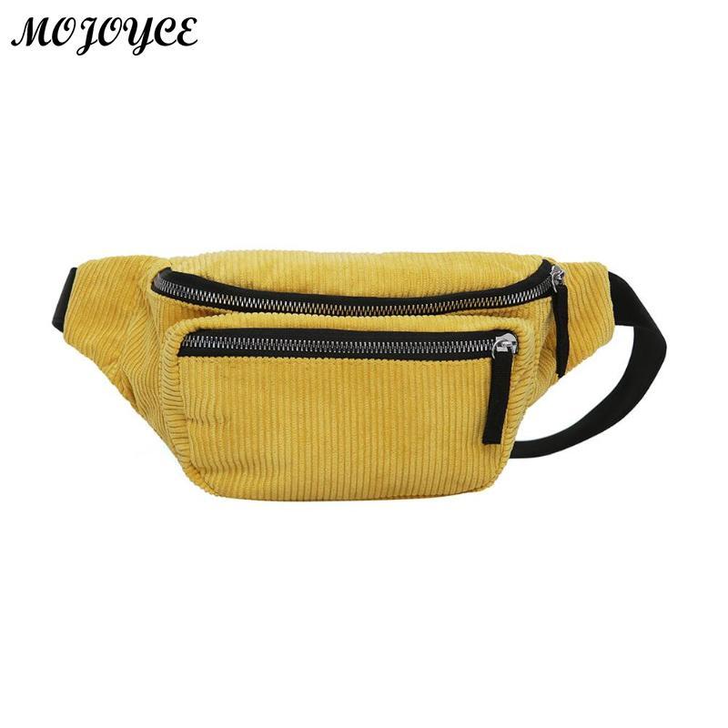 2019 Neue Cordura Taille Tasche Für Frauen Taille Taschen Gürtel Tasche Luxus Marke Mode Designer Taille Pack Weiblichen Fanny Schwarz Brust Tasche