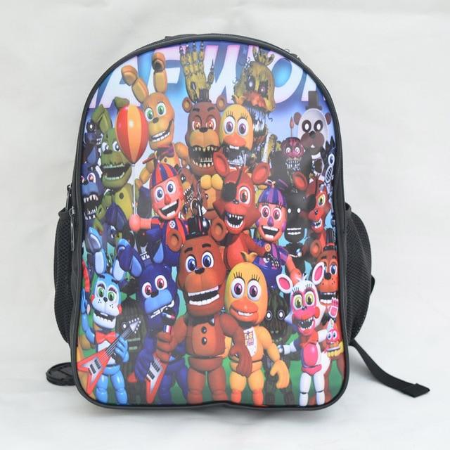18Inch Five Nights At Freddys Backpacks anime Customized Mochila Feminina Children Travel Bag School Bag Teenage