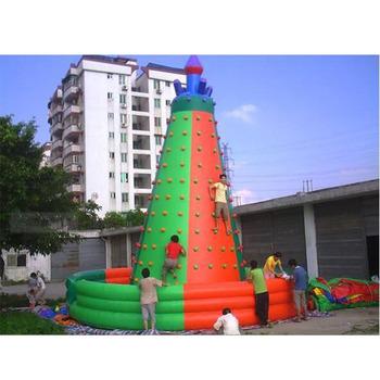 Profesjonalne air góra nadmuchiwane wspinaczka ściany tanie i dobre opinie XZ-CW-047 Dziecko Professional air rock mountain inflatable climbing walls 0 5mmPVC L8m*W8m*H8m 110-220v Large Outdoor Inflatable Recreation