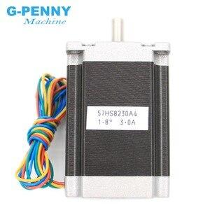 Image 4 - NEMA 23 CNC Động Cơ Bước 57X82Mm 3A 2.2N. M D = 8Mm 6.35Mm 315Oz in Nema23 CNC Router Khắc Máy 3D Máy In