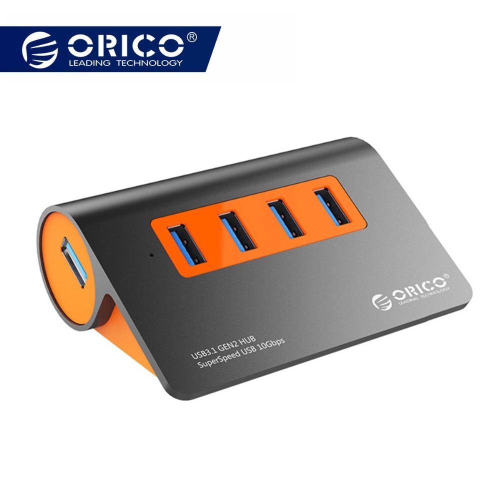 ORICO USB C Gen2 концентратор USB 3,1 Алюминий концентратора Тип C 3,1 сплиттер 10 Гбит/с супер Скорость для MacBook Pro samsung Galaxy S9/S8/Note