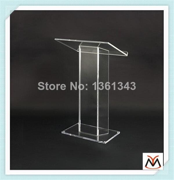 Hot selling/Custom Modern acrylic lectern/Clear pmma dais/School podiumHot selling/Custom Modern acrylic lectern/Clear pmma dais/School podium