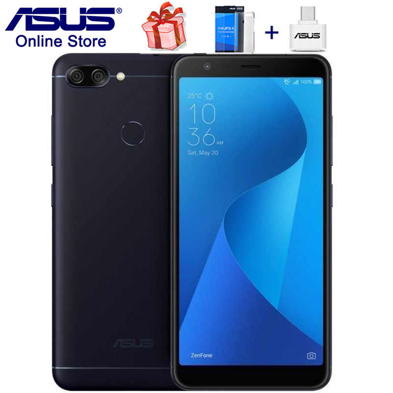 New ASUS ZenFone Max Plus M1 ZB570TL, 4G LTE Smartphones, Pegasus 4S 5.7 inch Screen 3GB 32GB, 3 Slots 16MP, Mobile Phone
