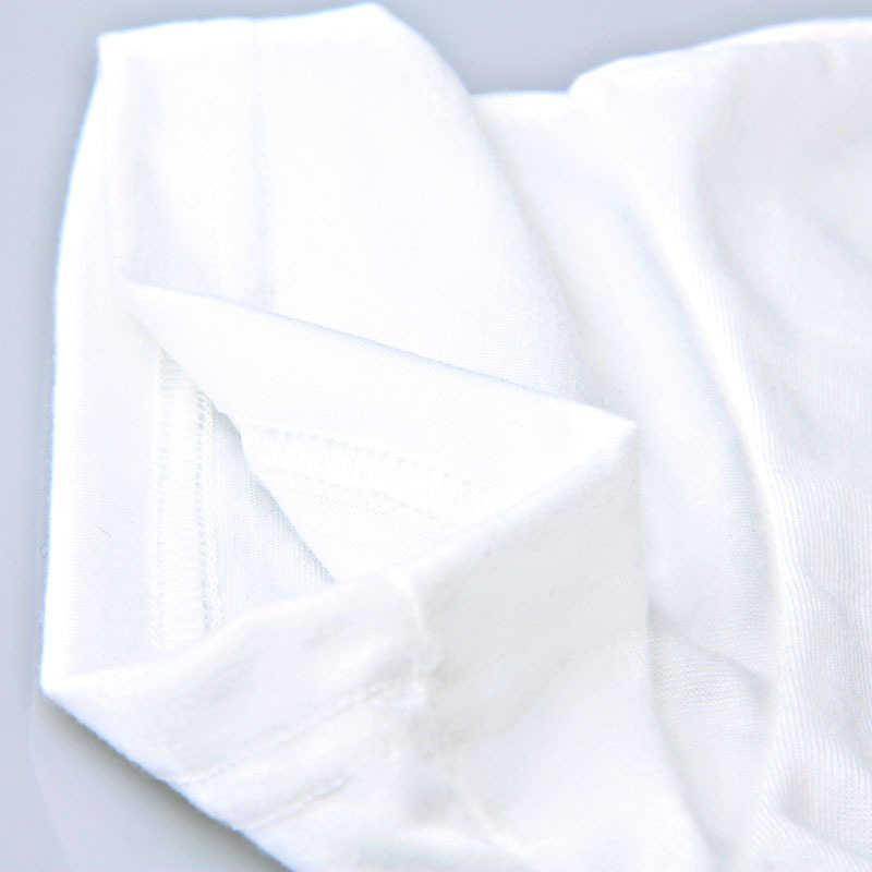 e8065cdb6fc5b ... Cncool Women s T-shirt White Color Soft Modal T Shirts Women Blue Dot  Hat Black ...
