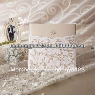 Latest Wedding Card Designs Fashion High Quality Handmade Wedding