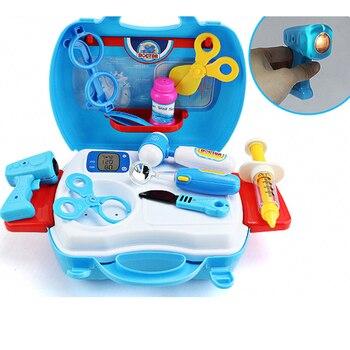 Juguetes Cirugía De Niños Médico Disfraz Disfraces Enfermera Para Azul Simulan Rol Jugar Juego XukZiOP