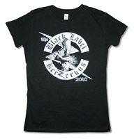 Black Label Society Berzerkus 2010 Girls Juniors Black T Shirt New Official BLS