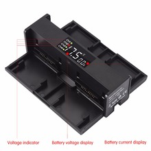 4in1 Lader Batterij voor DJI Mavic 2 Pro Zoom Opladen Hub Draagbare Smart Intelligente LED Display Drone Batterij Oplader