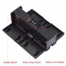 4in1 Sạc Pin cho DJI Mavic 2 Pro Zoom Hub Sạc Di Động Thông Minh Màn Hình LED Thông Minh Drone Pin Sạc