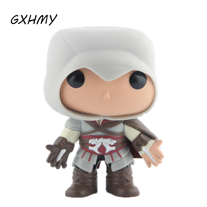 все цены на Elsadou #21 Assassin Creed Ezio Vinyl Action & Toy Figures Children Toys Doll