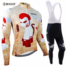 BXIO Winter Thermal Fleece Cycling Jersey Sets Pro Team Bicycle Clothing Mtb Maillot Ciclismo Hombre Mountain Bike Clothing 101