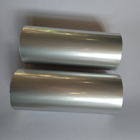 Hot Stamping Foil Matt Silver Color 121 For Paper Or Plastic 64cm X120m
