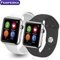 Novo smart watch iwo 1:1 atualização 2 geração de freqüência cardíaca IWO Smartwatch Smartwatch para Android IOS Do Bluetooth MP3 Player PK A9