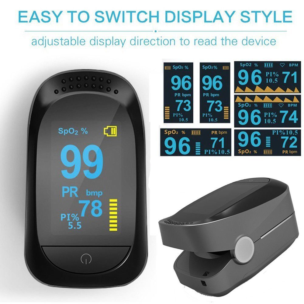 Small Size Compact OLED Display Finger Fingertip Blood Pulse Oximeter Medical Heart Rate Monitor Fingertip Pulse Oximeter acurio as 301 finger pulse oximeter вращающийся oled экран