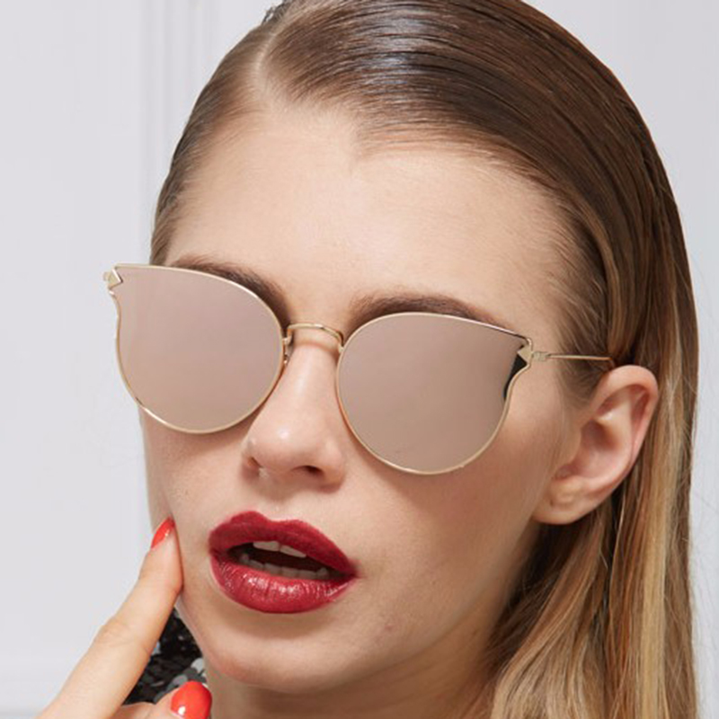 2016 italy famous luxury brand designer cat eye women sunglasses new men arrow metal shapes. Black Bedroom Furniture Sets. Home Design Ideas