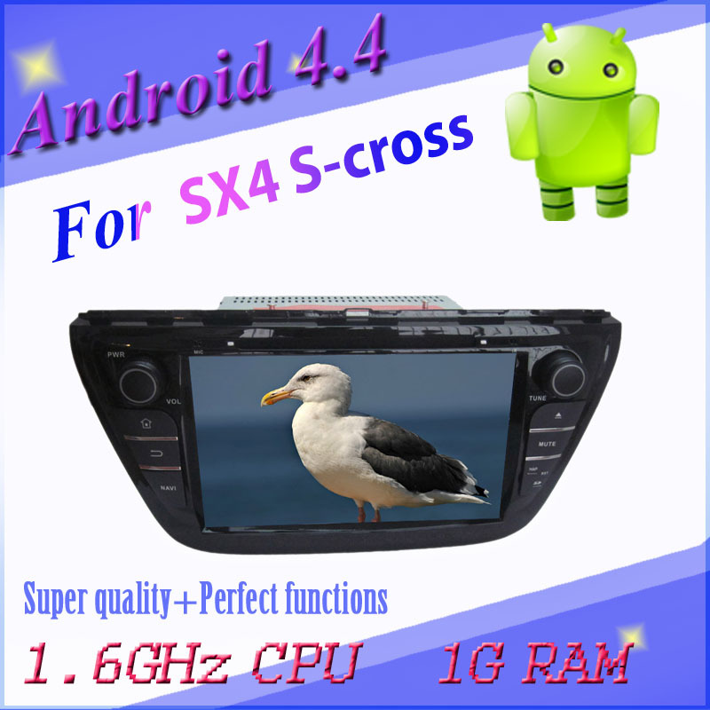 1024*600 capactive screen Android car DVD Suzuki SX4/S Cross 3g wifi gps navigation radio bt map - All real photo all selected products shop store