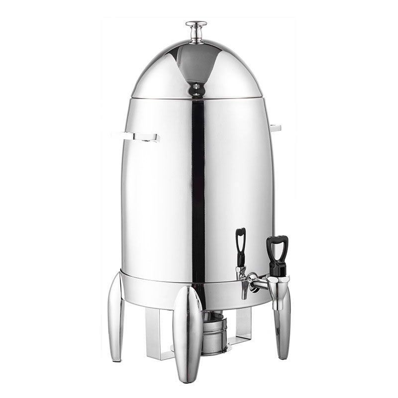 Jamielin Coffee Milk Keep Warm Tripod Machine Beverage Juice Container Buffet Stainless Steel Fruit Juice Drink Dispenser