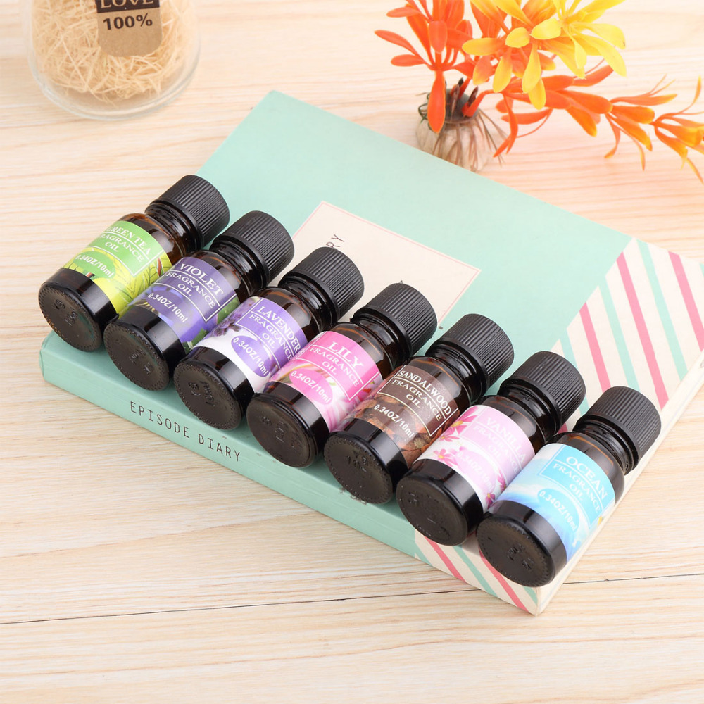 New Arrival 1PC 10ml Water-soluble Flavor Oil Natural Plants Aromatic Fragrance Essential Oil Spa Aromatherapy De-Stress Relax