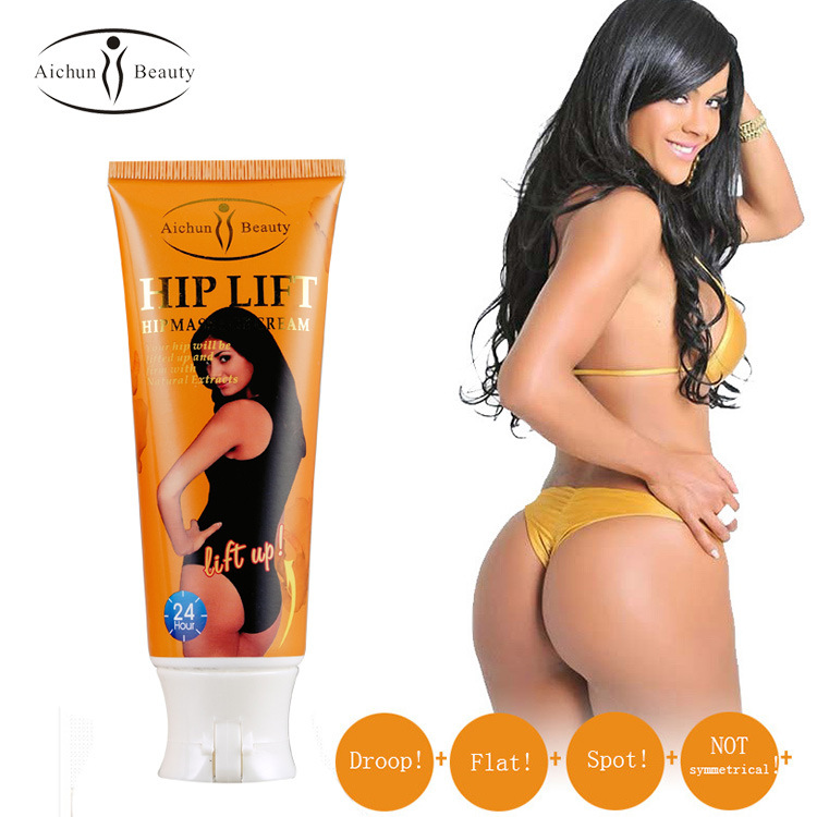 2017 Hot Sale Dry skin Care Body Lotion Aichun Fashion Female Beauty 120g Ginger Hip Lifting Cream Natural Buttocks Abundant