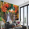 Beibehang Large Custom Wallpapers Landscape Waterfalls Water Fountain 3D Mural Landscape Wall Decorative Paintings