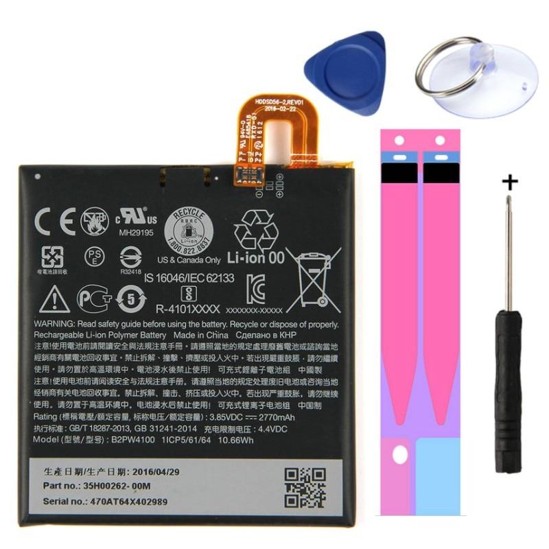 Bonne qualité 2770mAh B2PW4100 batterie de remplacement de téléphone portable pour HTC Google Pixel/Nexus S1 Li-ion Batteries polymère Batteria