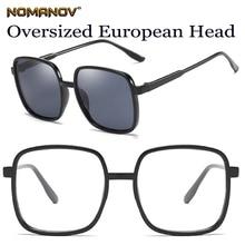 Custom Made Prescription Optical Glasses Photochromic TR90 Oversized Black Retro Frame Myopia Short Sight Reading