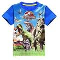 Hot summer 2016 nueva guerra Camiseta de dinosaurio Jurásico dinosaurio T-shirt de impresión comercial