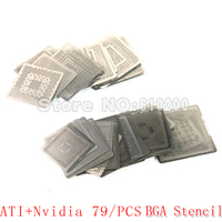 Free Shipping 79pca Set Nvidia ATI Chip Direct Heating VGA Card BGA Stencil BGA Reball Kit