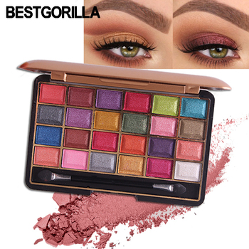 Miss rose makeup professional eyeshadow pallete 24 colors gold metallic shades shimmer matte eye shadow south Africa  eye shadow