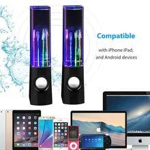2pcs mini Portable Bluetooth speaker USB Stereo Speakers for Mp3 Phone Music Player PC computer speaker Water Dancing Speaker