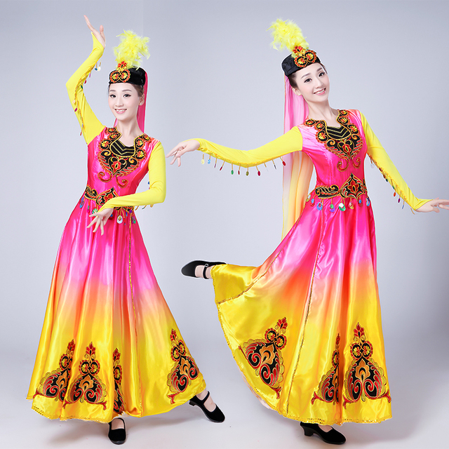 c744ccda4 New style Xinjiang Turpan Minority Dance Performance Wear Ethnic ...