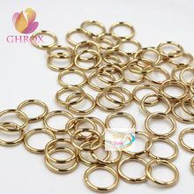 Wholeslae 80 pcs 12*10mm Bronze/sliver/gold Jump Rings & Split Rings Jewelry Finding Fit Earring/Necklace/Bracelet Making(China)