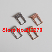 """YUYOND Original New Nano Sim Card Tray Slot Holder Replacement Parts For iPhone 6S 4.7"""" Gold/Gray/Siver/Rose Gold Free Shipping"""