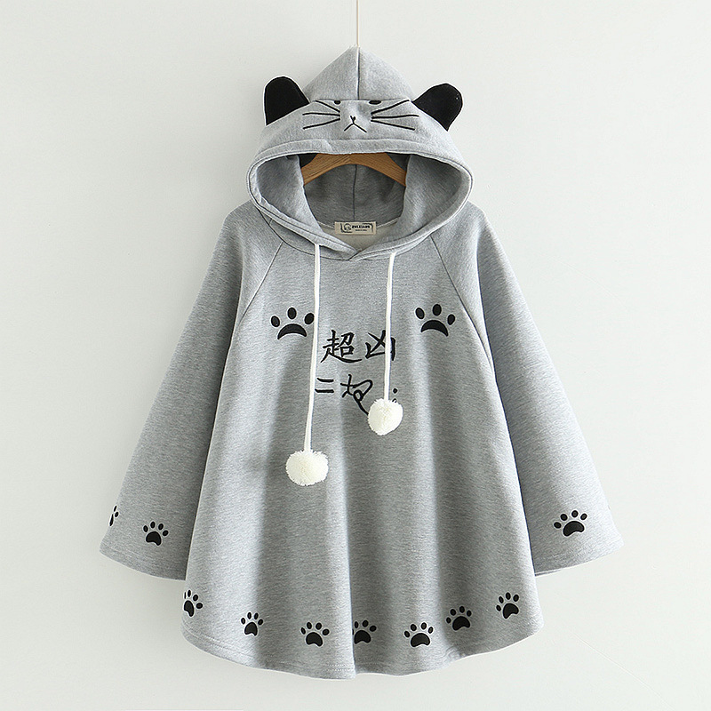 gray hoodies