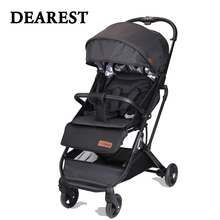 Dearest Baby stroller 2019 new folding portable trolley umberlla mini lightweight stollers baby stroller ultra light portable baby stroller baby car baby stroller folding child trolley eu big high baby stroller leather