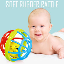 Plastic Baby Rattle Teeth ABS Carton Ball Toy Doll Feeding Products