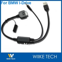 OEM USB 3.5MM AUX CABLE Free Shipping For BMW MINI COOPER OEM USB 3.5MM AUX CABLE for iPHONE iPod iPAD