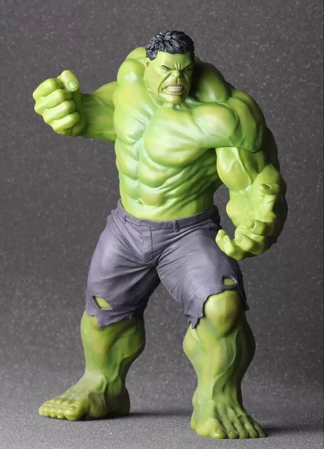 Crazy Toys the Avengers Age of Ultron Hulk PVC Action Figure Collection Toy 9 23CM KT399